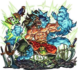 君臨せる蒼き狼 チンギスハン(獣神化)