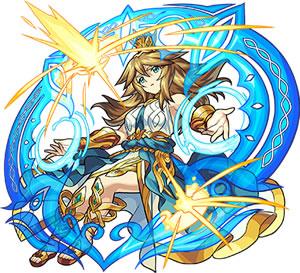 2474智彗と武勇の聖女神 アテナ