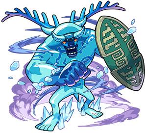 2527氷を纏いし石像 ブリザーガ