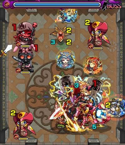 覇者の塔26階のボス第1戦