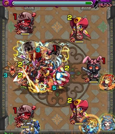 覇者の塔26階のボス第2戦