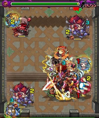 覇者の塔26階のボス第3戦