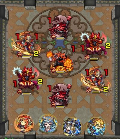 覇者の塔26階のザコ第1戦