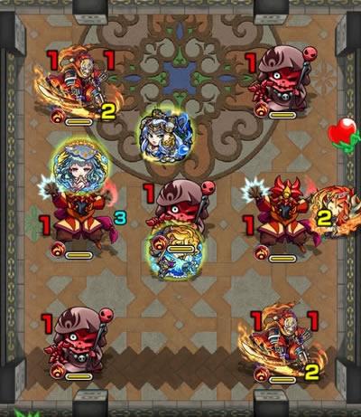 覇者の塔26階のザコ第2戦