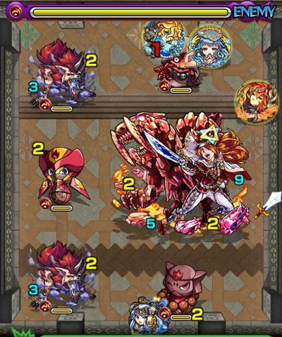 覇者の塔26階のザコ第3戦