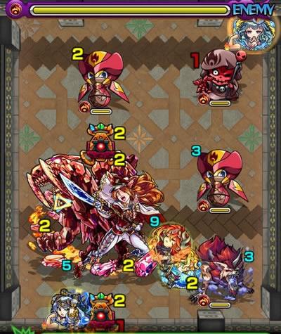覇者の塔26階のザコ第4戦