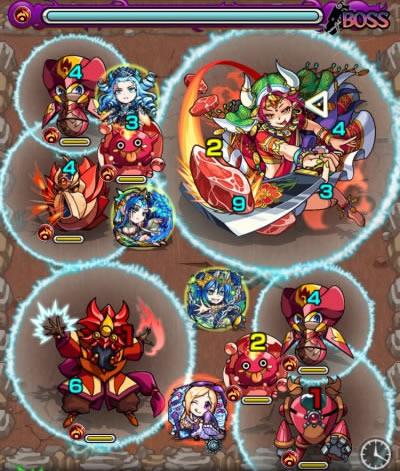 ヤクシニーのボス第1戦