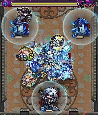 覇者の塔27階のボス第4戦