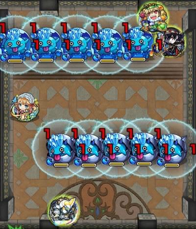 覇者の塔27階のザコ第3戦