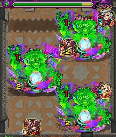 覇者の塔28階のボス第2戦