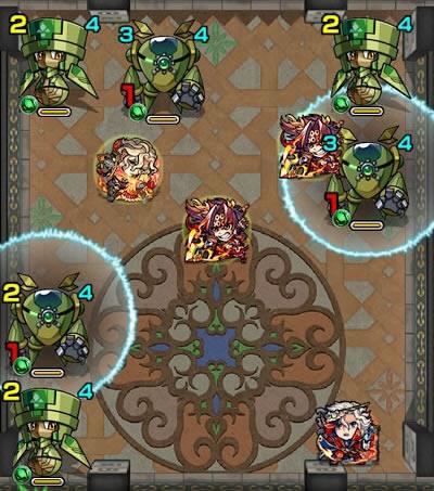 覇者の塔28階のザコ第2戦