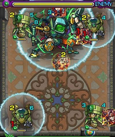 覇者の塔28階のザコ第5戦