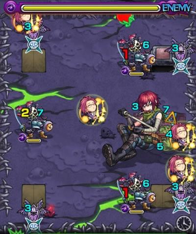 ロゼ准尉のザコ第3戦