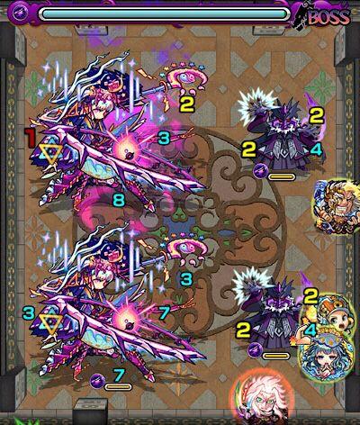 覇者の塔29階のボス第2戦