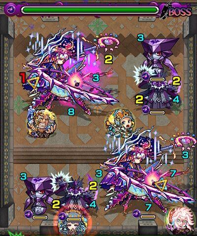 覇者の塔29階のボス第3戦