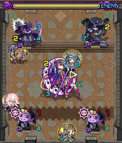 覇者の塔29階のザコ第3戦